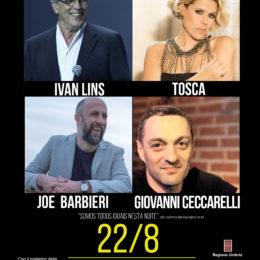 Tosca / Ivan Lins/ Joe Barbieri/ Giovanni Ceccarelli