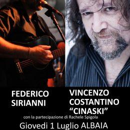 Federico Sirianni & Vincenzo Costantino Cinaski Rachele Spigola